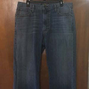 Mens Lucky Brand 181 Relaxed Straight Jeans 36x32